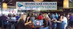 Irving Supports Local